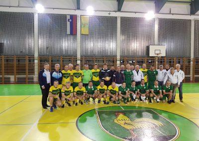 Veterani NKO-Pred tekmo v Šentjerneju-Januar 2018